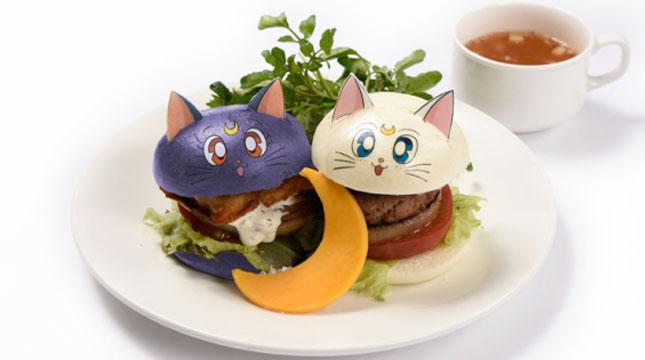 Sailor Moon's Same Cafe in Japan (Photo: http: //en.rocketnews24.com)
