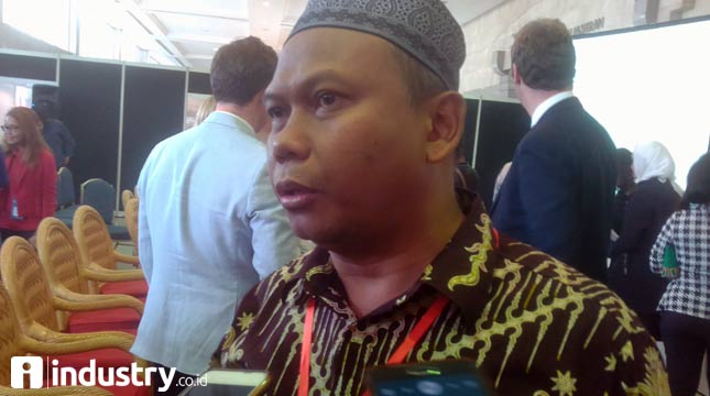 Chairman of Indonesian Furniture Association (ASMINDO) Mugianto Sukadi Isman (Hariyanto / INDUSTRY.co.id)