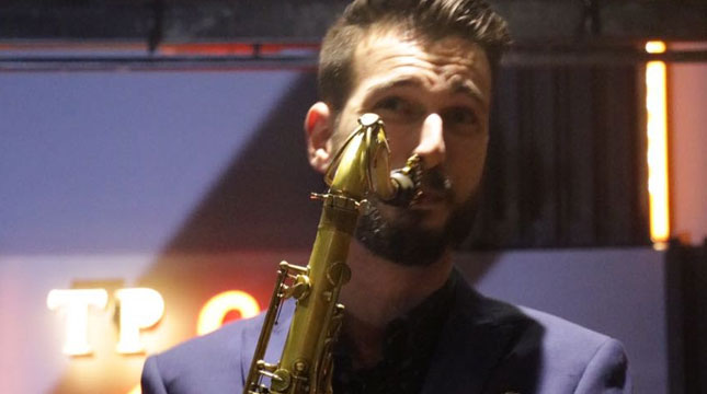 Saxophonist from New York, Chad Lefkowitz Brown Enliven The Papandayan Jazz Bandung Festival (TPJBF)