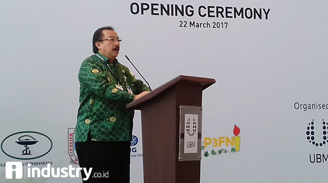 General Chairman of the Indonesian Pharmaceutical Companies Association (GP), Tirto Kusnadi (Hariyanto / INDUSTRY.co.id)