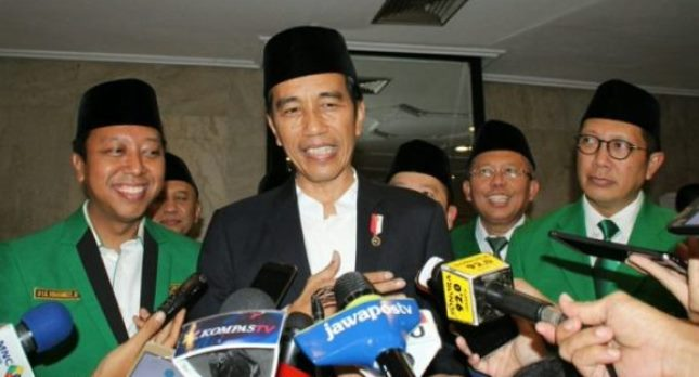 President Jokowi at PPP event