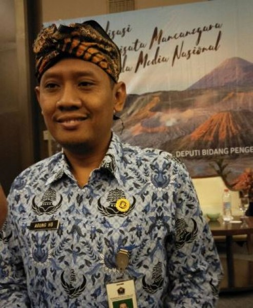 Agung, as Head of Tourism Marketing, Disparbud Malang City (Photo Dije)