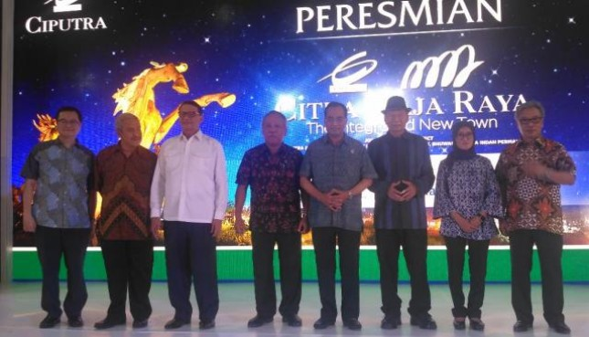 Inauguration of Citra Maja Raya by Minister of Public Works and Public Housing Basuki Hadimuljono and Minister of Transportation Budi Karya Sumadi Saturday (18/11/2017). (Photo: INDUSTRY.co.id)