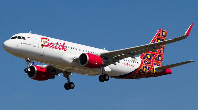 Indonesian Airline, Batik Air (Photo: trans lampung)