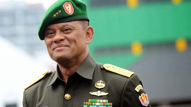 Commander General Gatot Nurmantyo