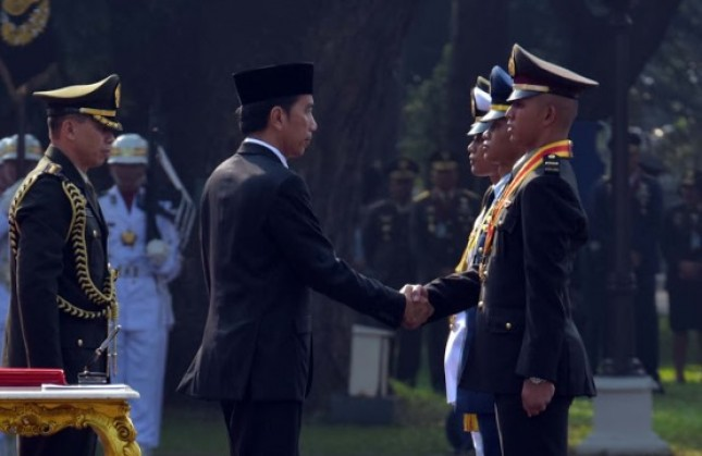 President Joko Widodo on inaugurate event