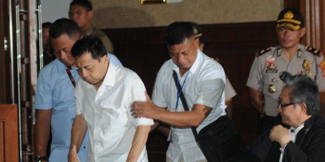 Ketua DPR RI Setya Novanto (Foto Rizki Meirino)