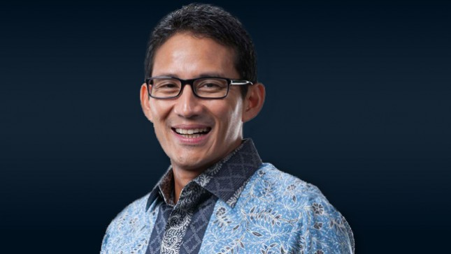 Sandiaga Uno, Wagub DKI 2017-2019 (Foto ist)