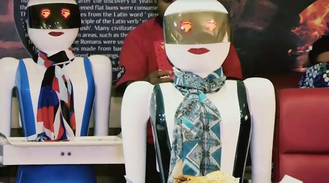 waiter robots