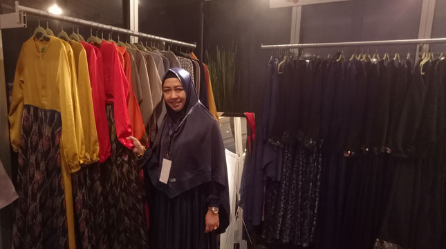 Dhyani Prima Owner dhy's Busana Muslim (Chodijah Febriyani/INDUSTRY.co.id)