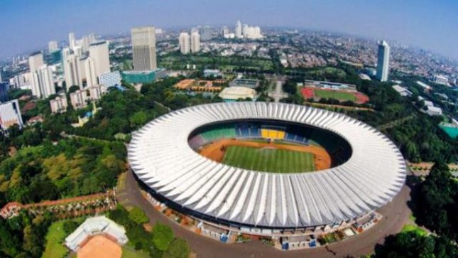 Jokowi Gbk Stadium Ready To Used Here Is A New Face