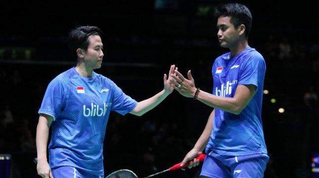 Tontowi Ahmad and Liliyana Natsir