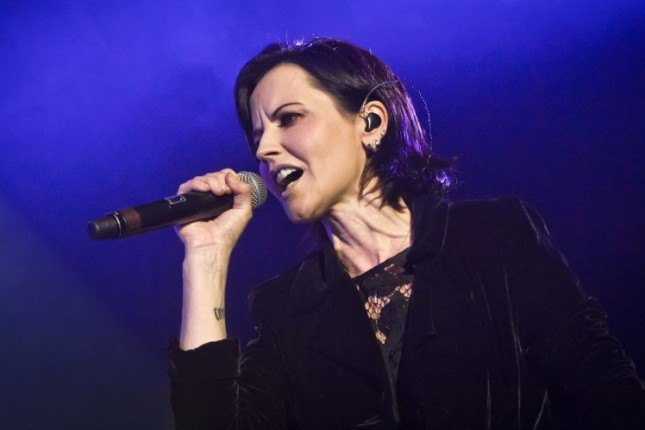 Dolores O'Riordan, Vokalis The Cranberries. (Foto Ist)