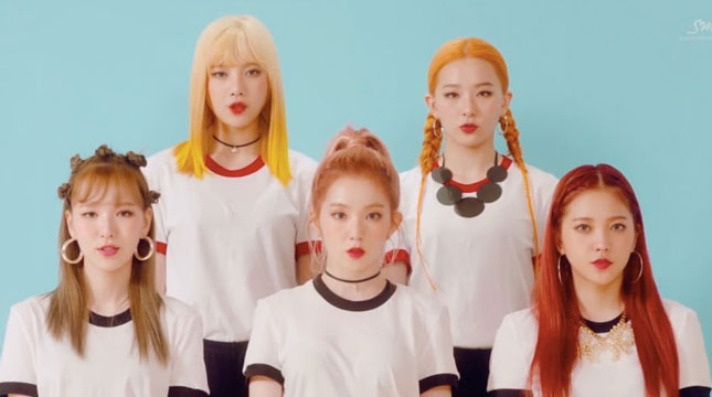 Video Trailer Russian Roulette, Red Velvet (Photo: www.soompi.com)
