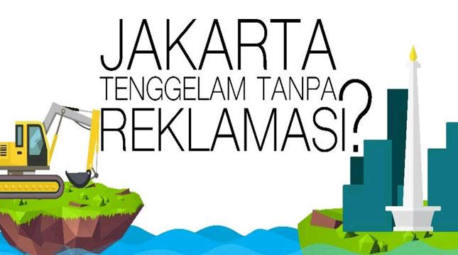 Jakarta Tenggelam Tanpa Reklamasi?