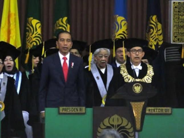 Presiden Jokowi hadiri Dies Natalis ke-68 UI (Foto Dok Setkab)