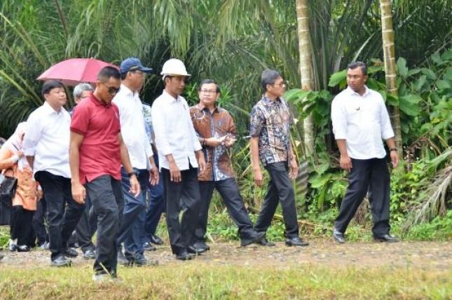 Presiden Jokowi kunjungan kerja ke Sumbar (Foto Setkab)