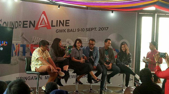 Soundrenaline Press Conference