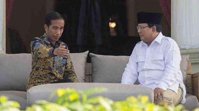 Presiden Jokowi dan Prabowo Subianto (Foto: Ist)