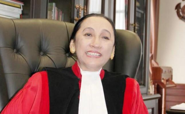 Hakim Konstitisi Maria Farida (Foto Dok Industry.co.id)