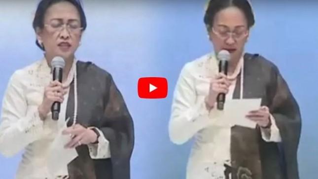 Video Puisi Sukmawati yang melecehkan Islam (Tribunnews.com)