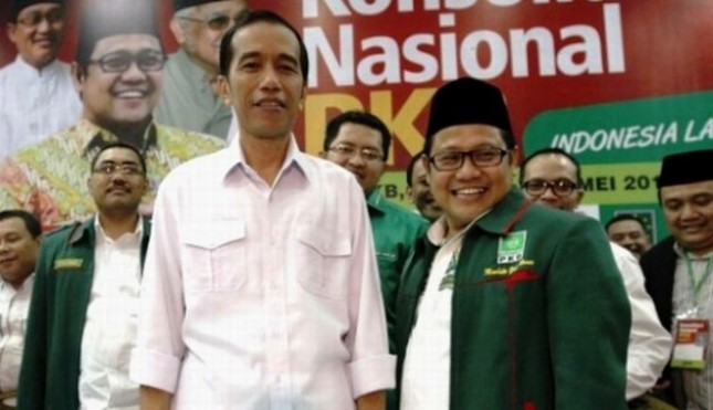 President Jokowi and Chairman of PKB Muhaimin Iskandar (Photo Dok Industry.co.id)