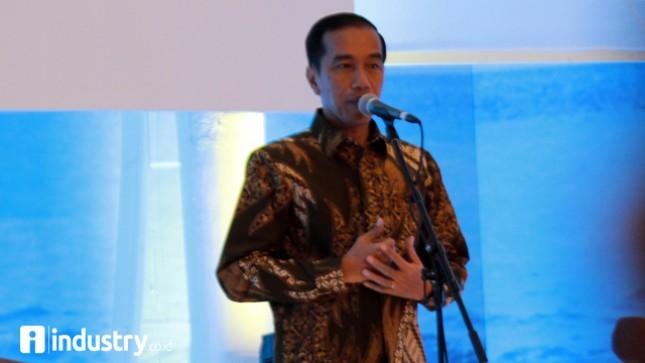 Presiden Jokowi (Foto/Rizki Meirino)