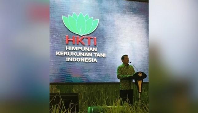 Purnawirawan Jenderal TNI Moeldoko Resmi Jabat Ketua Umum Himpunan Kerukunan Tani Indonesia