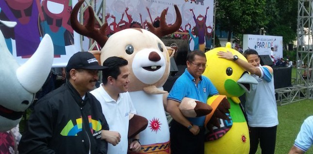 Vice Governor of DKI Jakarta, Sandiaga S Uno predicts economic growth in Jakarta will grow 6.22 percent with the Asian Games 2018, compared to the national economic growth of only 5.1 percent throughout 2017.