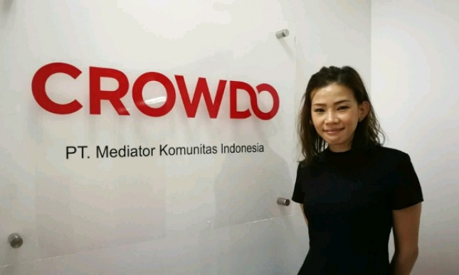 Cally Alexandra, General Manager Crowdo Indonesia (Foto: Dok. Industry.co.id)