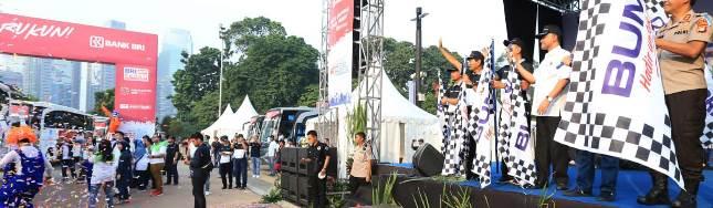 BRI Berangkatkan Ribuan Pemudik Sambut Lebaran 2018 (FFoto Dok Industry.co.id)