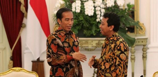 Ketum PPP dan Presiden Jokowi (Foto Dok Industry.co.id)