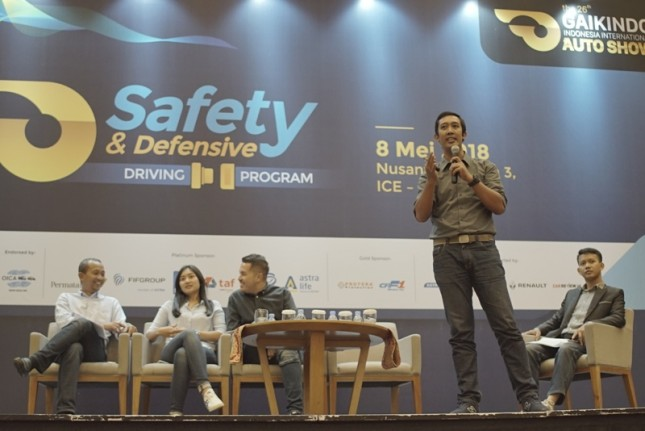 One of GIIAS 2018's efforts starts from the pre-event program of GIIAS 2018 Safety & Defensive Driving event which took place on May 8, 2018, at ICE BSD.
