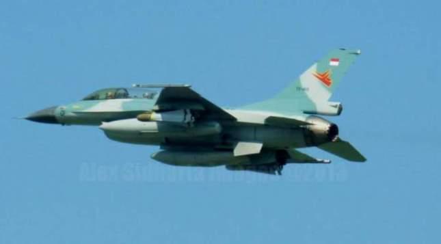 Pesawat tempur F16 TNI AU (Foto Dok Industry.co.id)