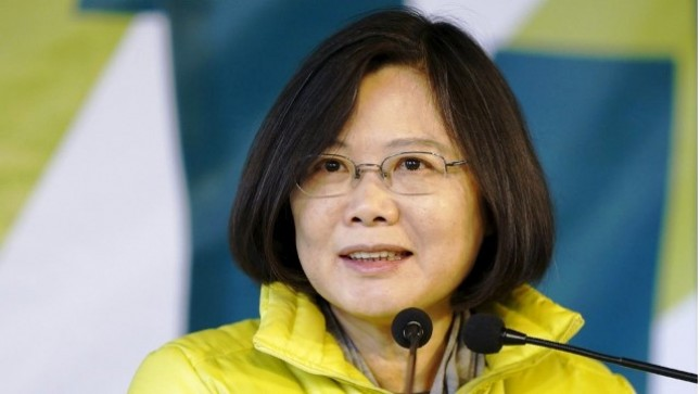 Taiwan President Tsai Ing-wen (Foto Ist)