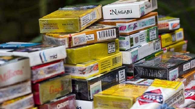Illustration of Illegal Cigarettes ((Ist)