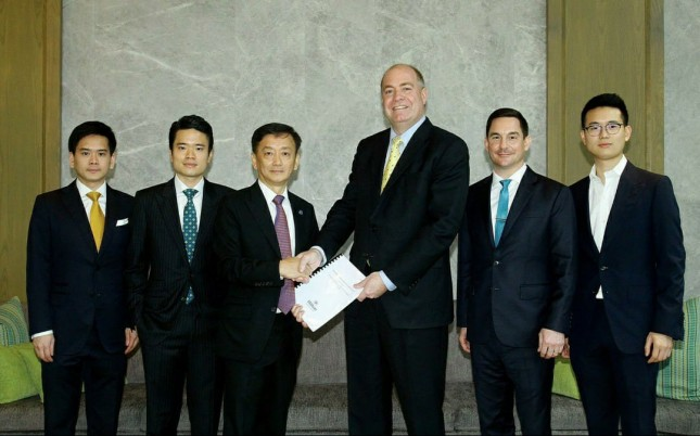 Management agreement signed with AP Prime Property Company Ltd.