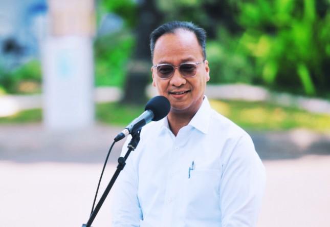 Minister of Industry Agus Gumiwang Kartasasmita (Photo by: Documentation of Cabinet Secretariat)