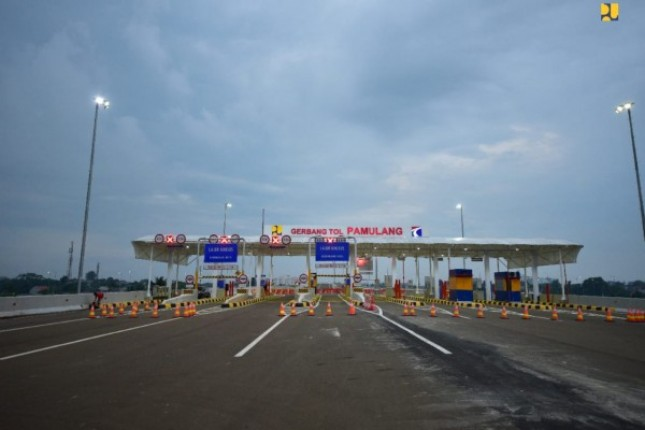 Pamulang Toll Gate. (Photo: Ministry of Public Works and Public Housing)