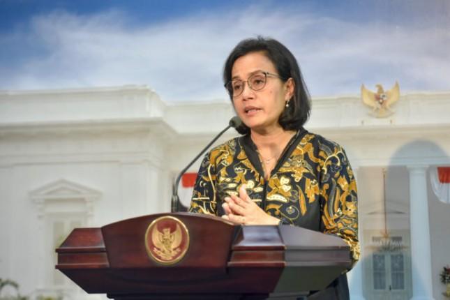 Minister of Finance Sri Mulyani Indrawati (Photo by PR of Cabinet Secretariat)