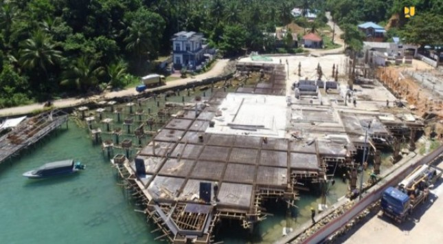 Development of Integrated Cross-Border Post of Serasan (Photo by: PR of Ministry of Public Works and Public Housing)