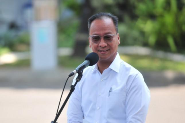 Minister of Industry Agus Gumiwang Kartasasmita. Photo by: PR of Cabinet Secretariat.