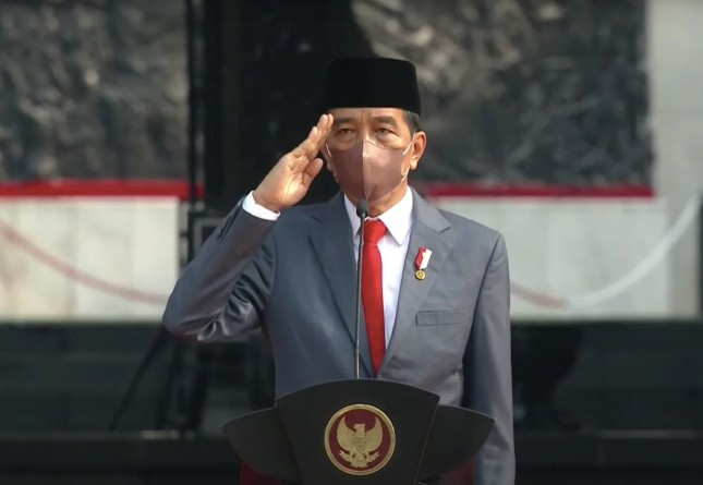 President Jokowi on Friday (1/10) leads ceremony on Pancasila Sanctity Day at Lubang Buaya, East Jakarta