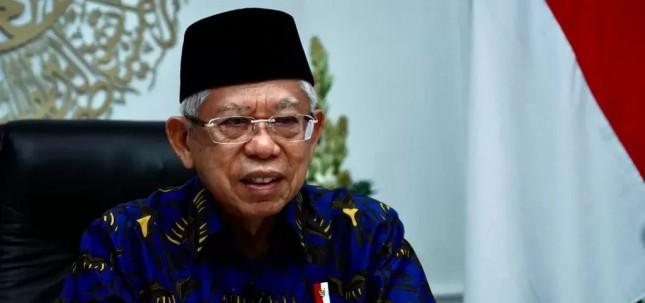 Vice President Ma'ruf Amin (Photo by: BPMI of Vice Presidential Secretariat)