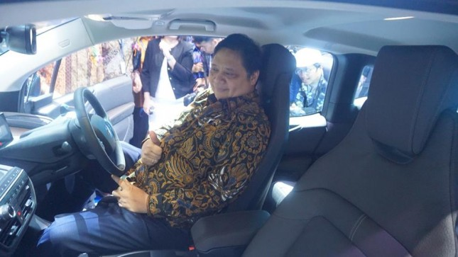 Minister of Industry, Airlangga Hartanto