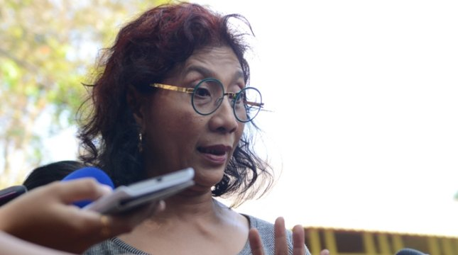 Minister of Marine Affairs and Fisheries Susi Pudjiastuti. (Photo: Setkab)