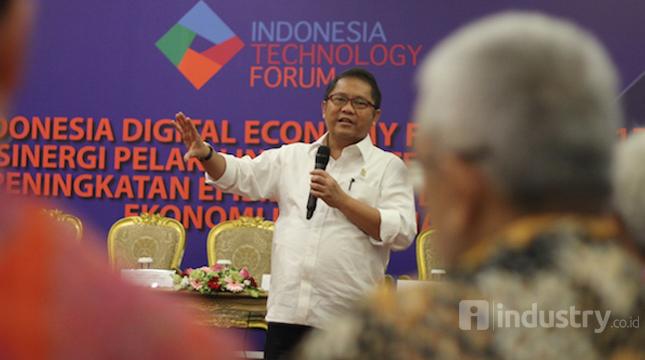 Menteri Komunikasi dan Informatika Republik Indonesia (Menkominfo) Rudiantara