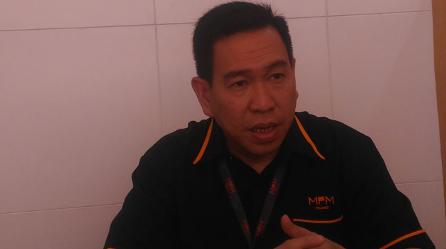Direktur Utama PT Mitra Pinasthika Finance (MPM Finance), Johny Kandano