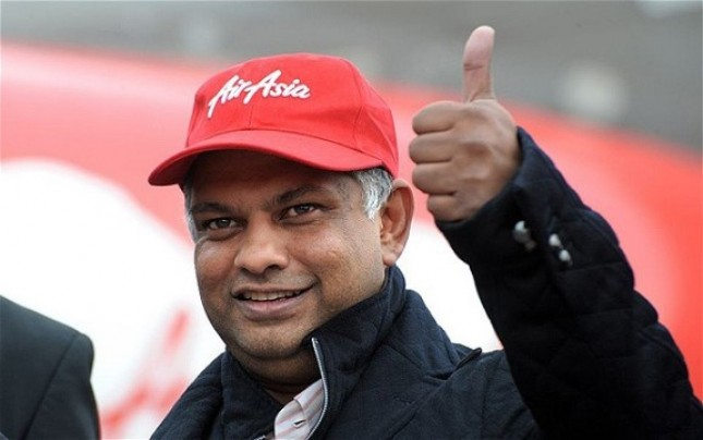 CEO Group AirAsia Tony Fernandes (Foto Ist)