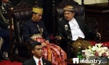 Presiden Jokowi didampingi Wapres JK menghadiri Sidang Tahunan MPR Tahun 2017 Rabu (16/8) (Foto Rizki Meirino)